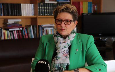 Teresa Pallarès: 'L'estació intermodal, si no està connectada amb el tren-tramvia, no té sentit'