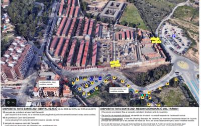 El dispositiu especial a Tarragona per Tots els Sants, al detall